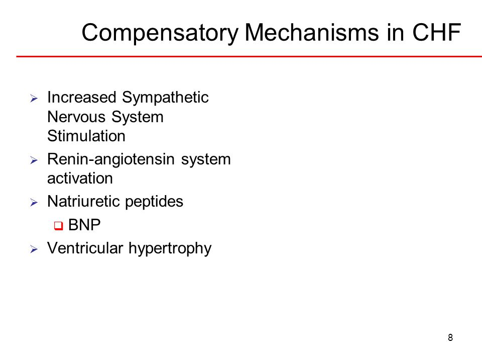 Compensatory Mechanisms in CHF
