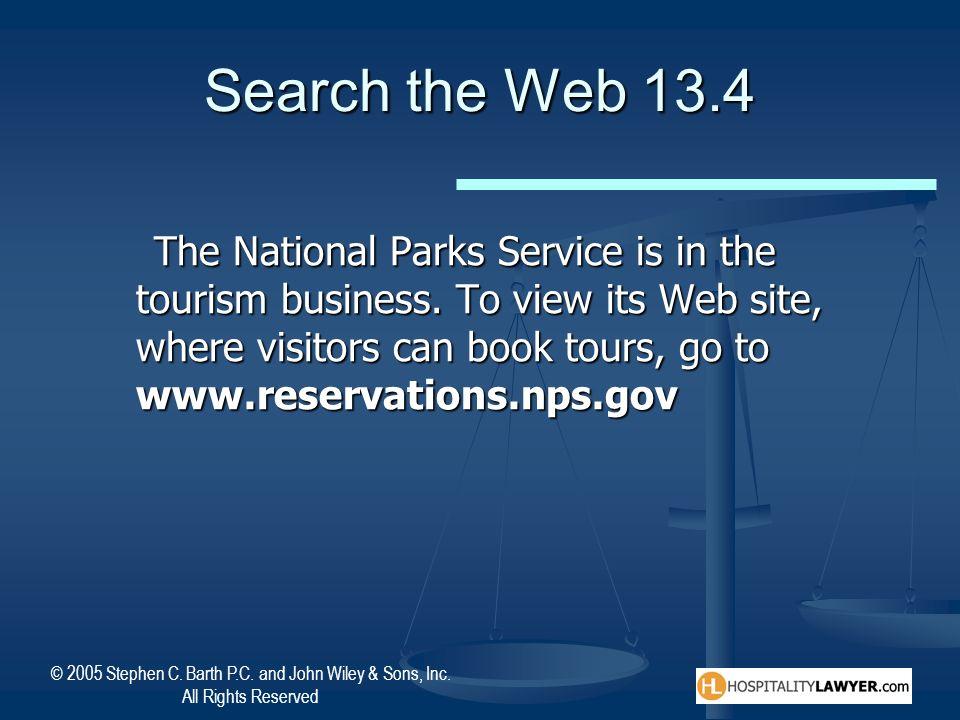 Search the Web 13.4
