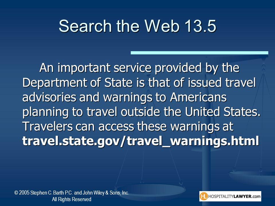 Search the Web 13.5