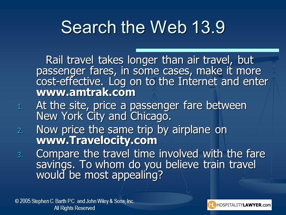 Search the Web 13.9