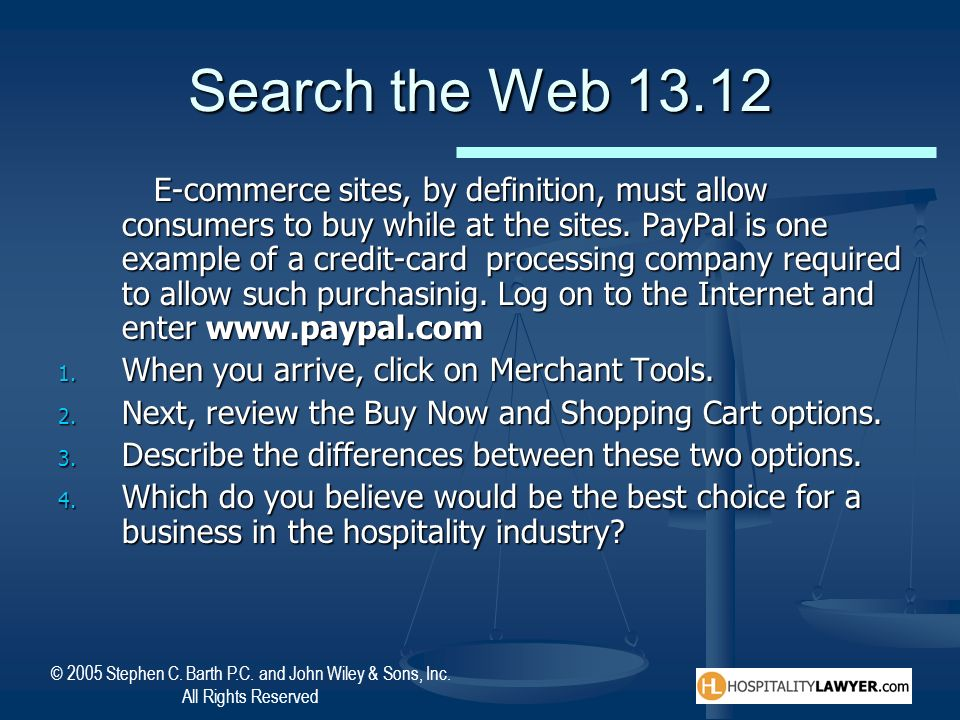 Search the Web 13.12