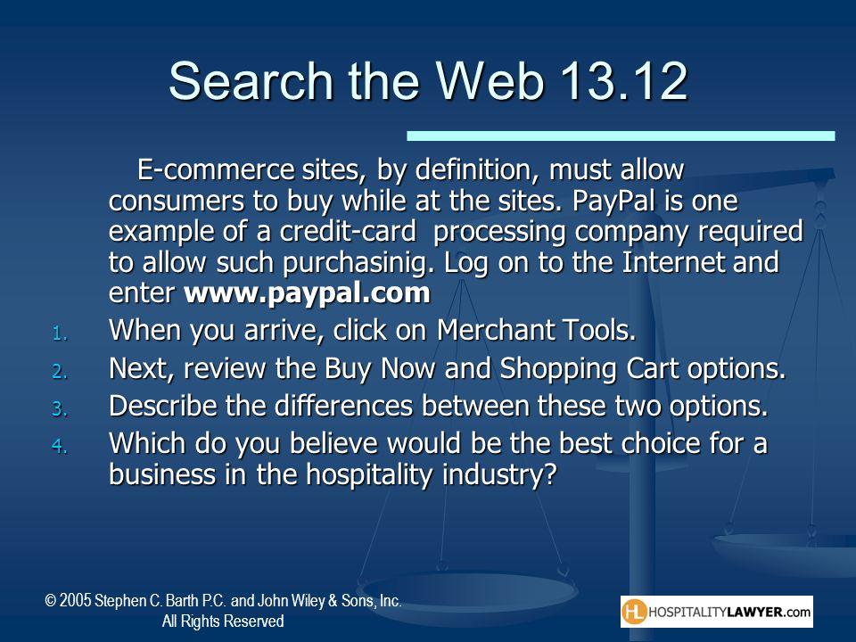 Search the Web 13.12