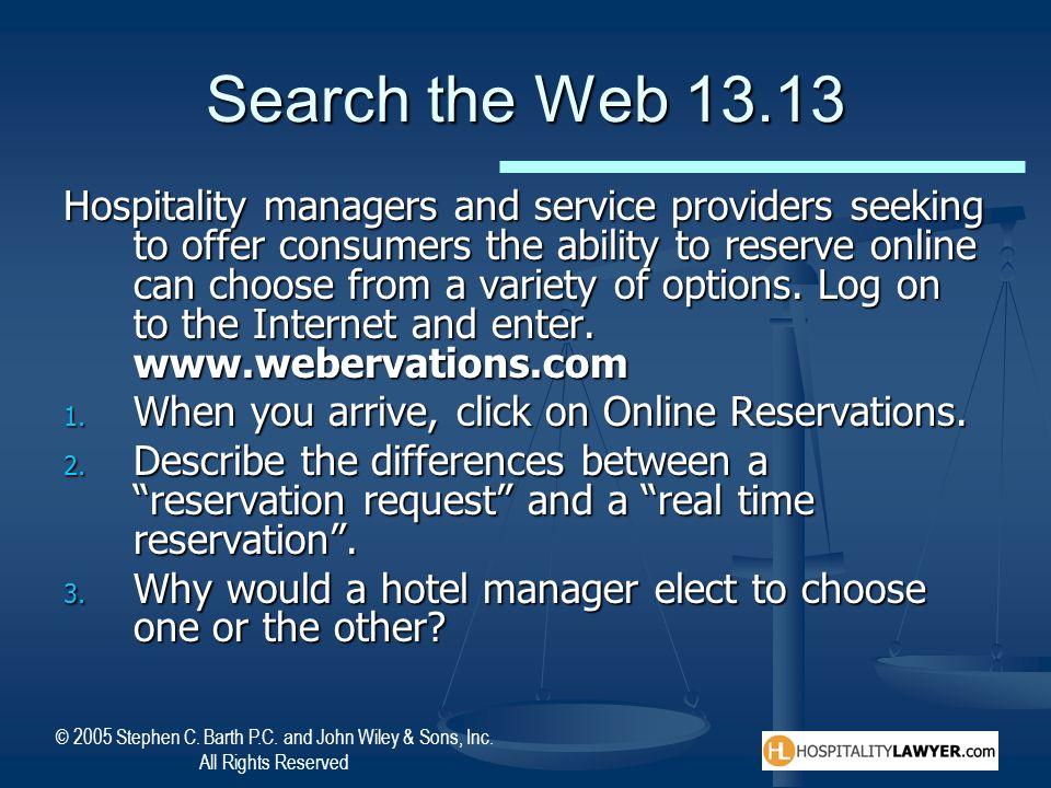 Search the Web 13.13
