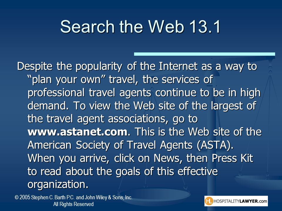 Search the Web 13.1