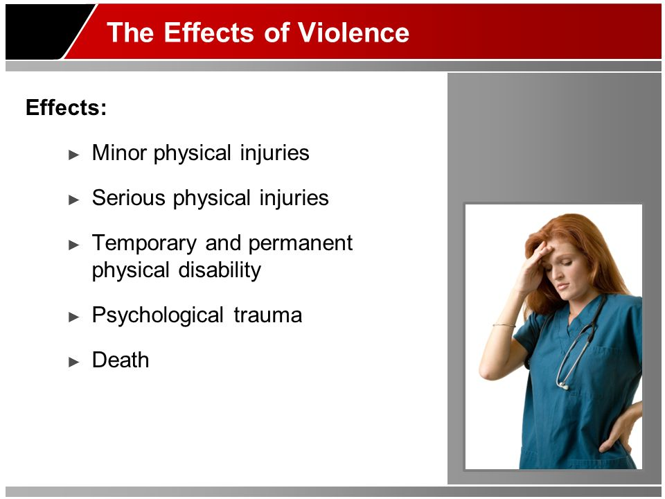 The Effects of Violence