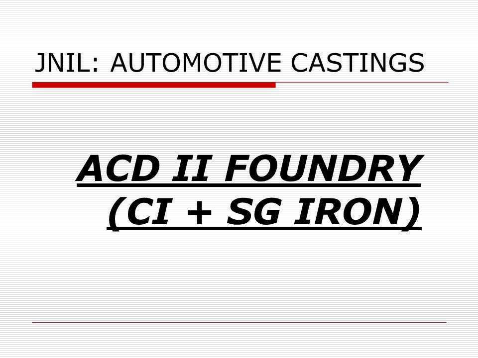 JNIL: AUTOMOTIVE CASTINGS