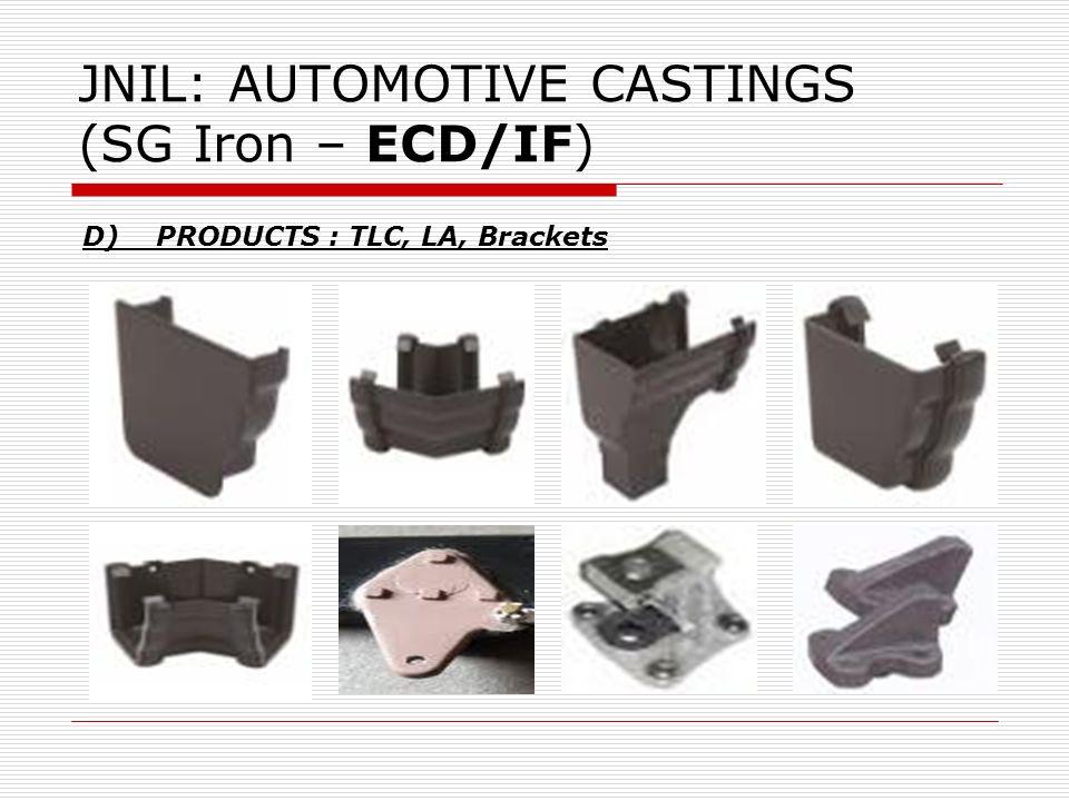 JNIL: AUTOMOTIVE CASTINGS (SG Iron – ECD/IF)