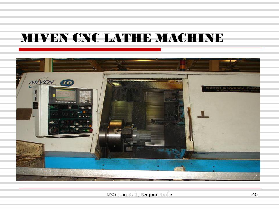 MIVEN CNC LATHE MACHINE