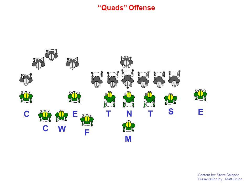 Quads Offense E C E S T N T C W F M