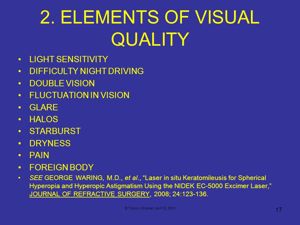 2. ELEMENTS OF VISUAL QUALITY