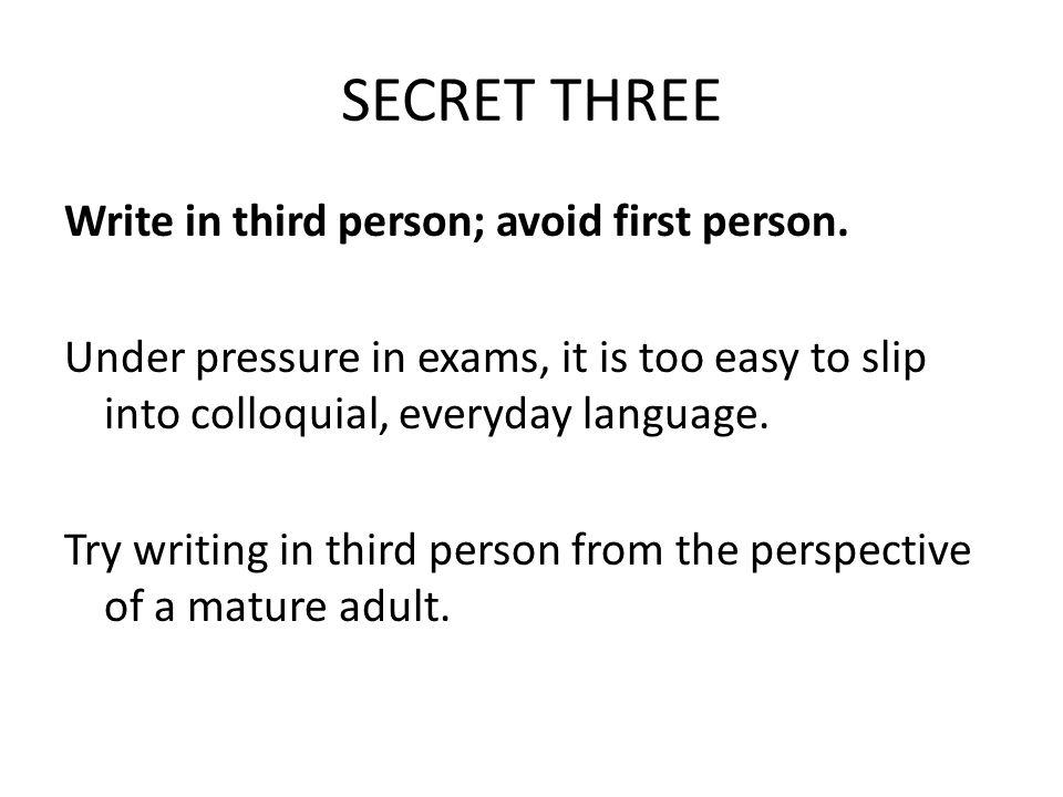 SECRET THREE