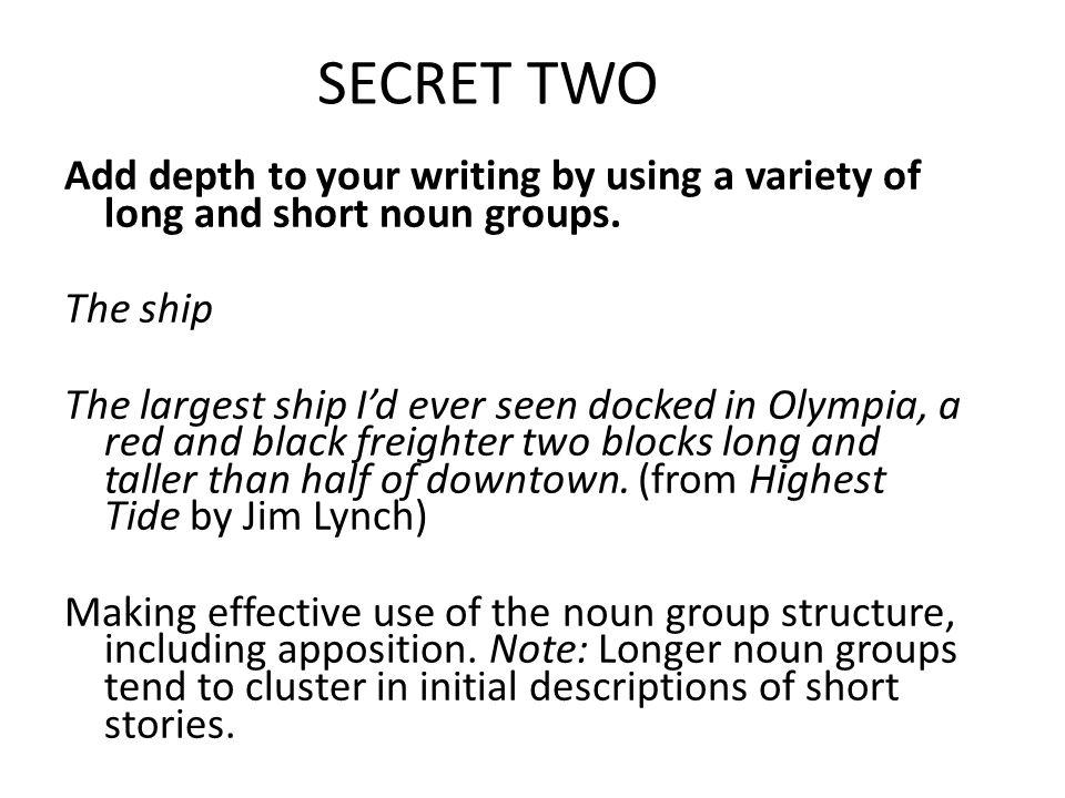 SECRET TWO