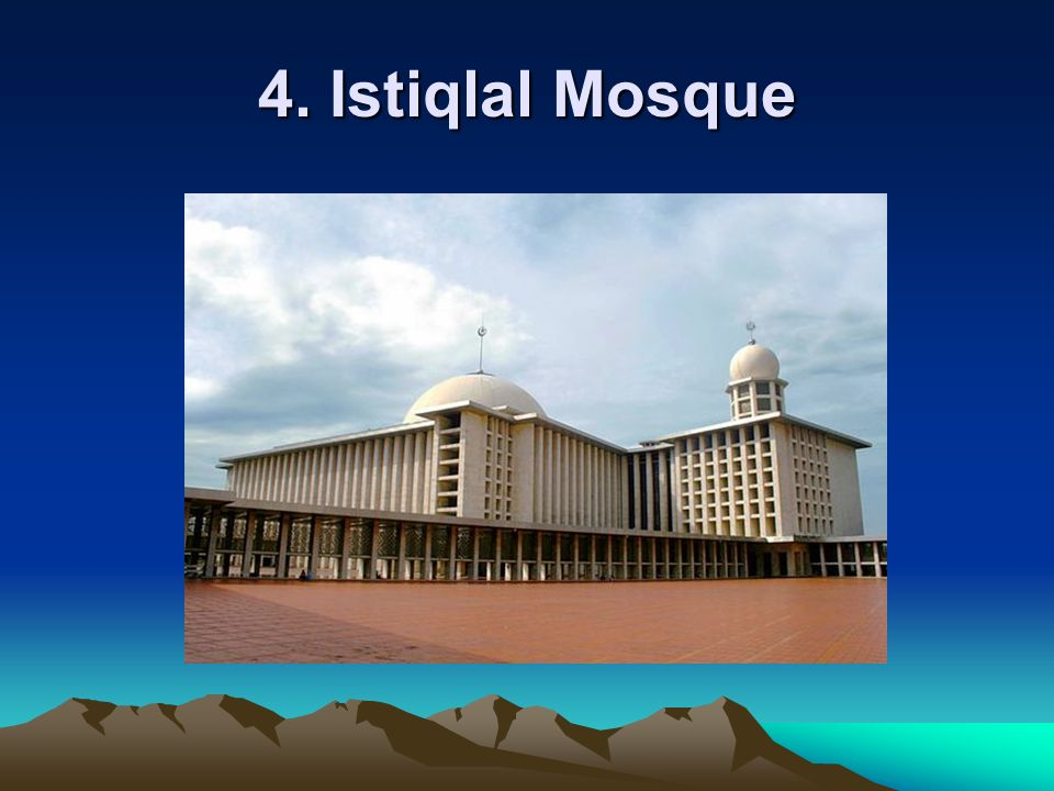 4. Istiqlal Mosque