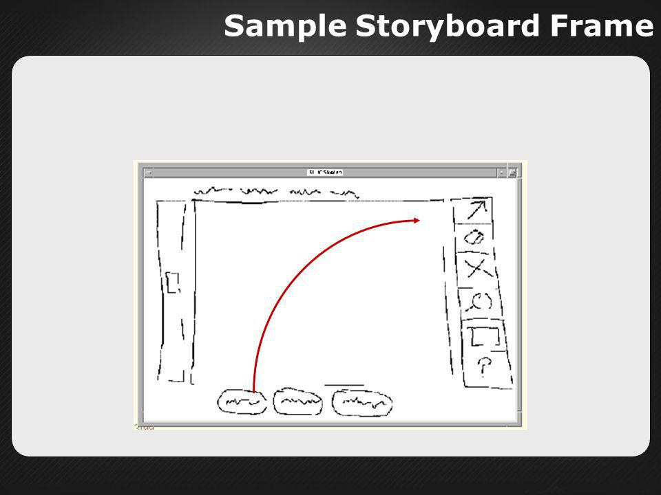 Sample Storyboard Frame