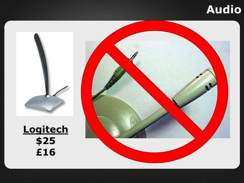 Audio Logitech $25 £16