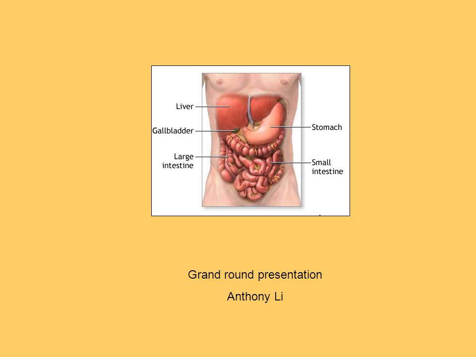 Grand round presentation
