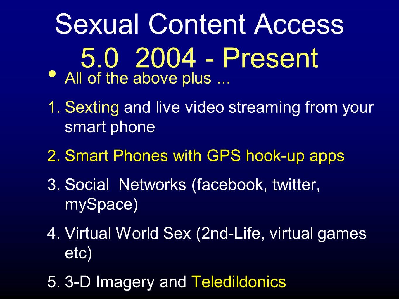 Sexual Content Access 5.0 2004 - Present