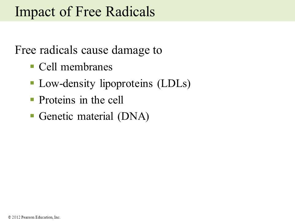 Impact of Free Radicals