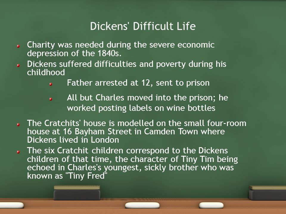 Dickens Difficult Life