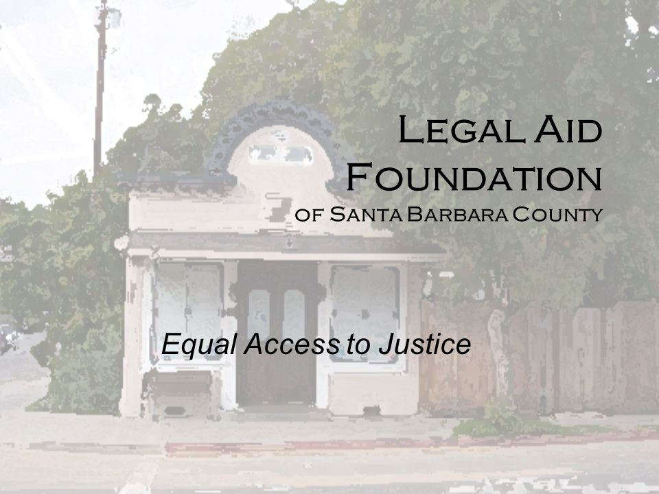 Legal Aid Foundation of Santa Barbara County