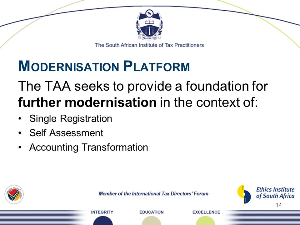 MODERNISATION PLATFORM
