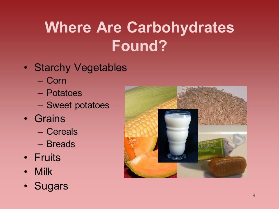 Where Are Carbohydrates Found