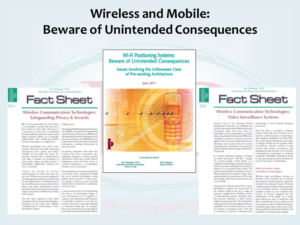 Wireless and Mobile: Beware of Unintended Consequences