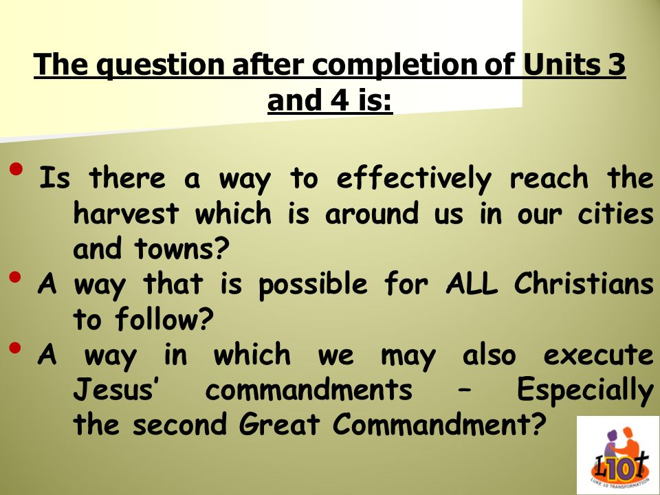 The question after completion of Units 3 and 4 is: