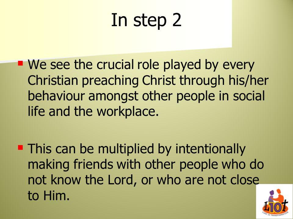 In step 2