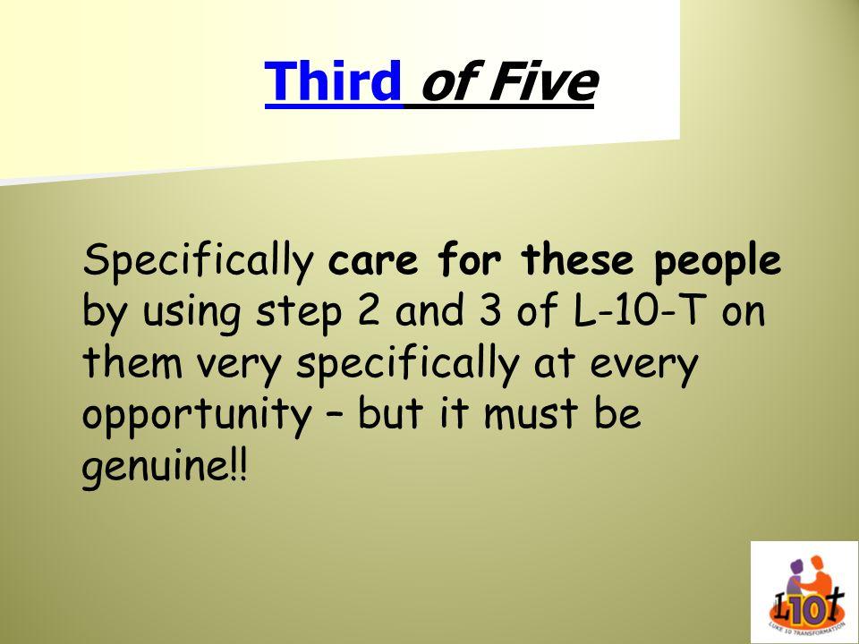 Third of Five