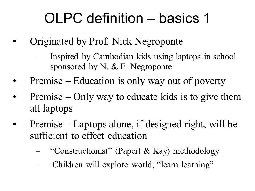 OLPC definition – basics 1
