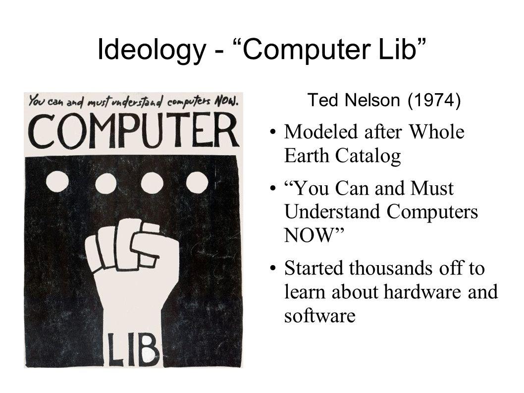 Ideology - Computer Lib