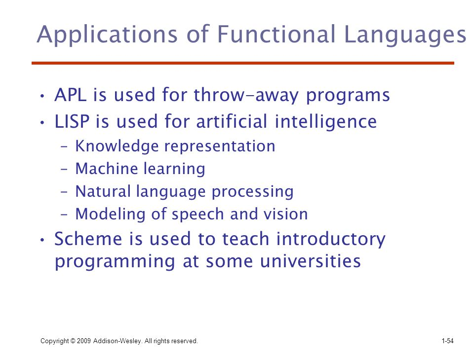 Applications of Functional Languages
