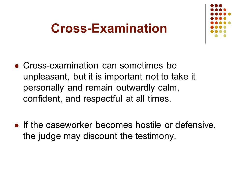 Cross-Examination