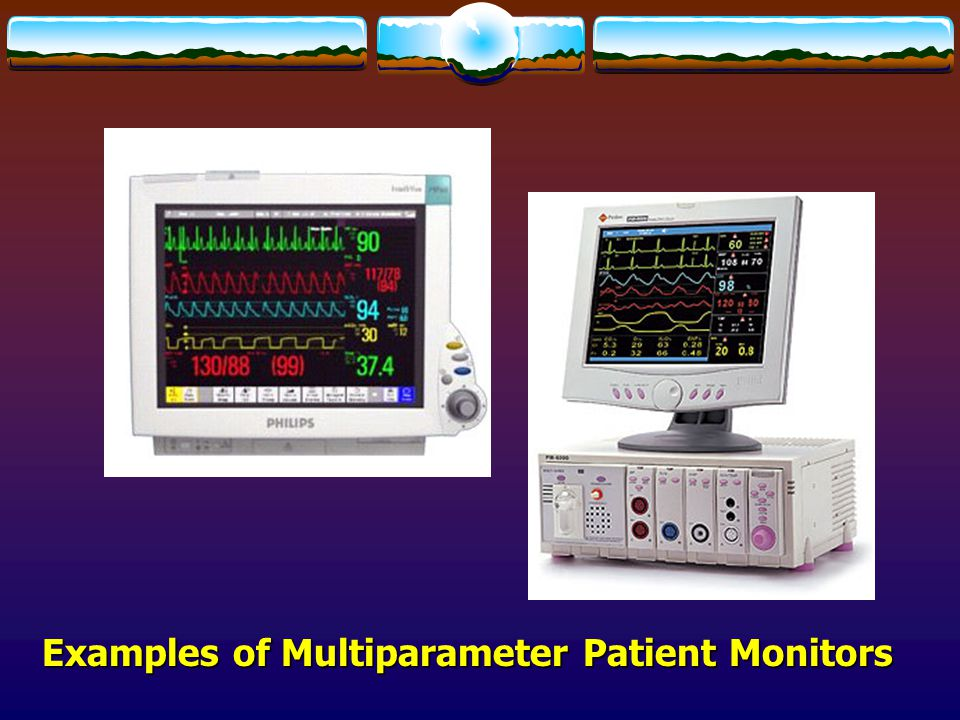 Examples of Multiparameter Patient Monitors