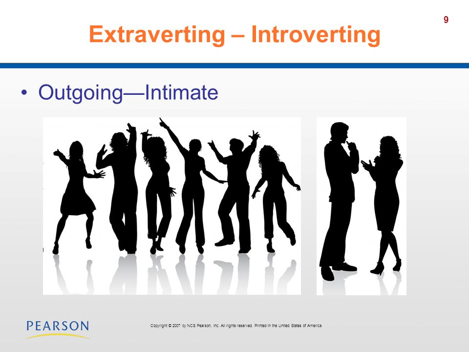 Extraverting – Introverting