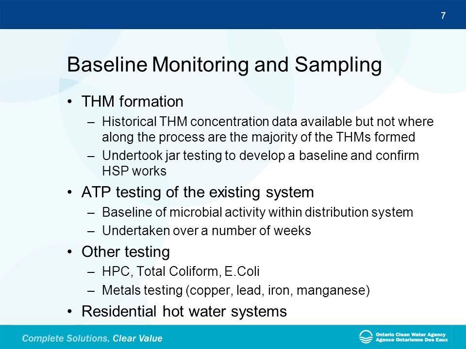 Baseline Monitoring and Sampling