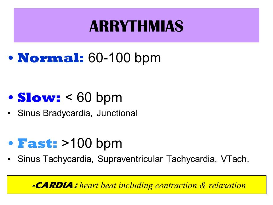 -CARDIA : heart beat including contraction & relaxation