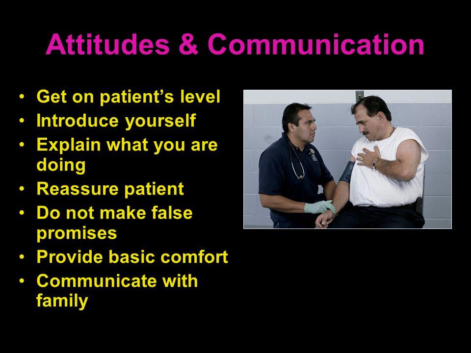 Attitudes & Communication