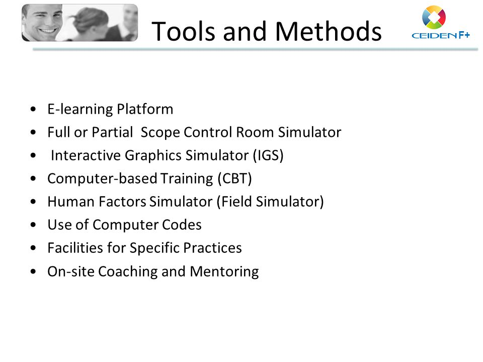 Tools and Methods E-learning Platform