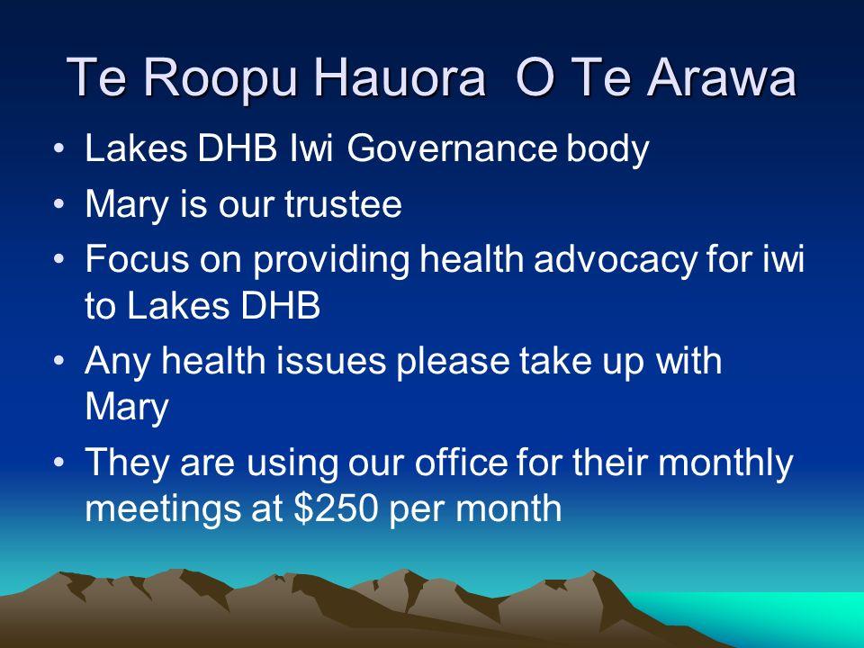 Te Roopu Hauora O Te Arawa
