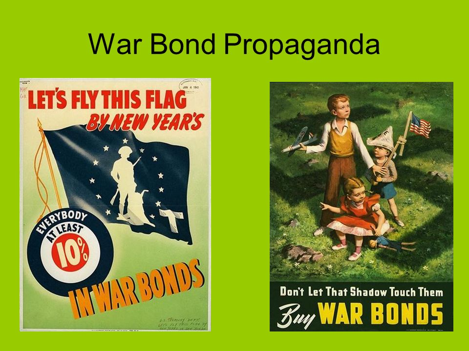War Bond Propaganda
