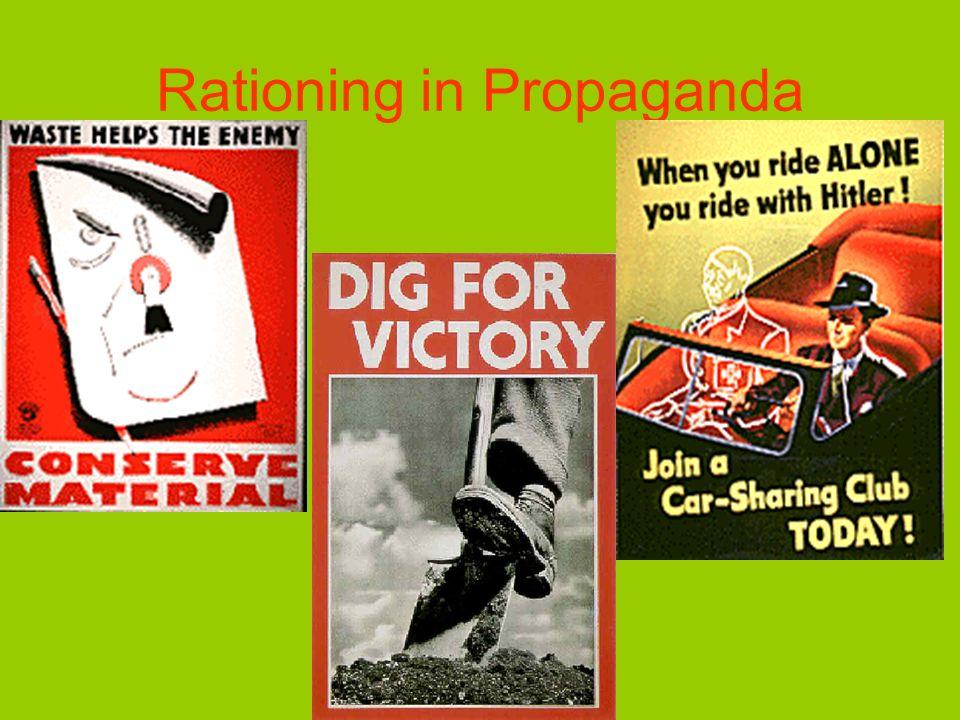 Rationing in Propaganda