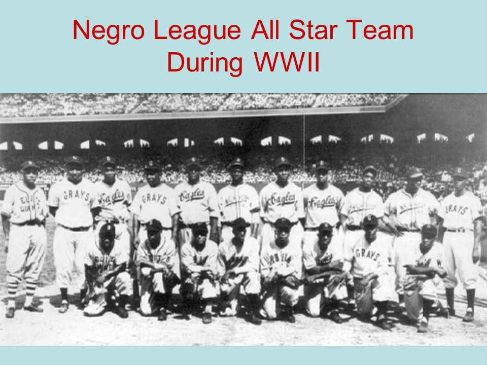 Negro League All Star Team During WWII