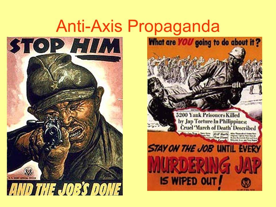 Anti-Axis Propaganda