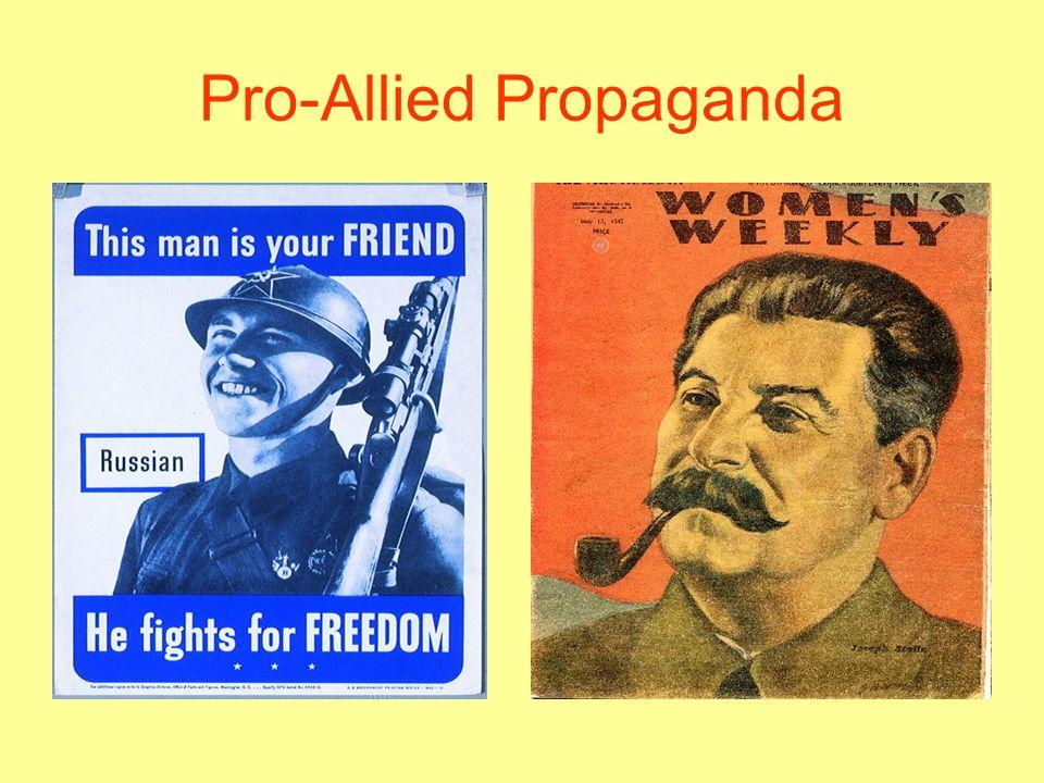 Pro-Allied Propaganda