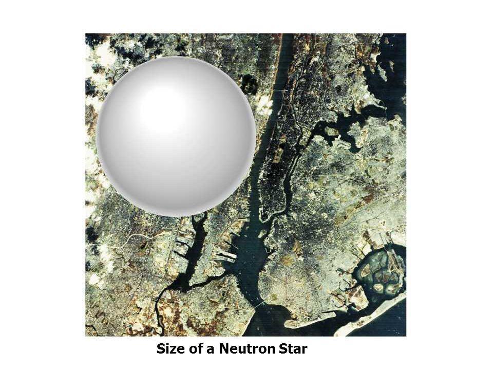 Size of a Neutron Star