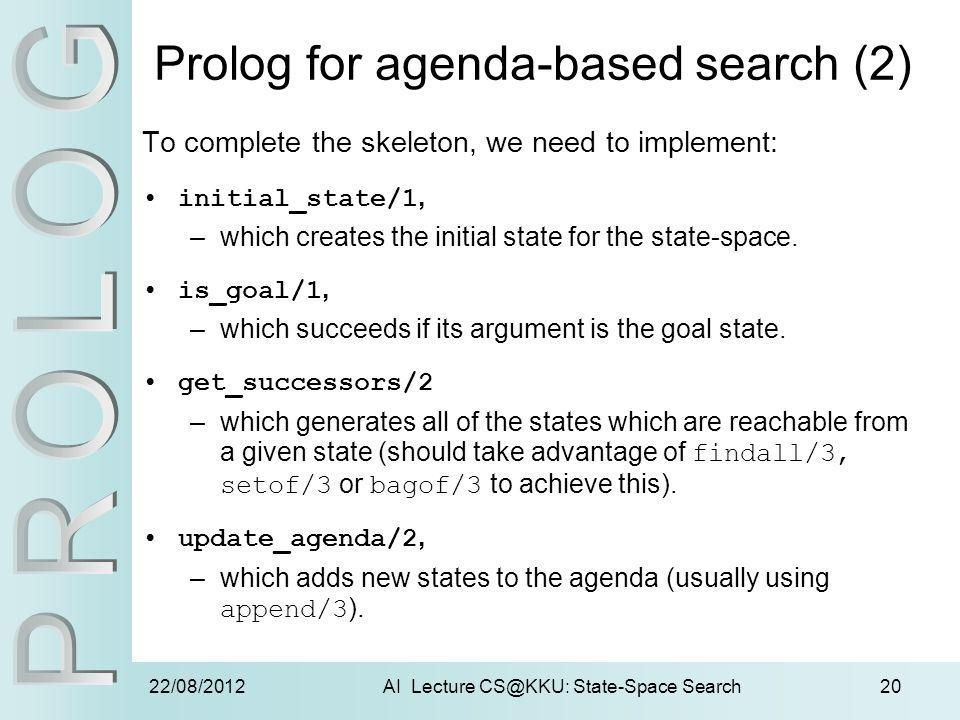 Prolog for agenda-based search (2)