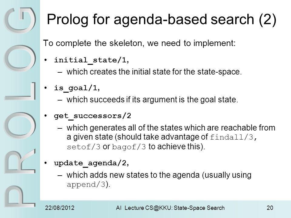 Prolog for agenda-based search (2)