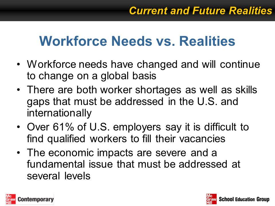 Workforce Needs vs. Realities